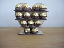 MINI CUORE FERRERO ROCHER Display Stand, Piramide ALBERO blocchi 26