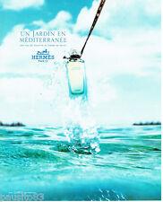 PUBLICITE ADVERTISING 056  2003  Eau de toilette Hermès un jardin en méditerrann