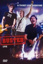 Busted A Ticket For Everyone Live in Concert Music Gig DVD Sealed UK Release