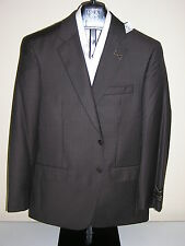 $1295 new Jos A Bank Signature Gold Brown stripe 2 button suit 46 X Long 41 W