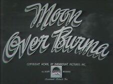 MOON OVER BURMA 1940 (DVD) DOROTHY LAMOUR