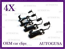 NEW OEM TOYOTA LEXUS BLACK CAR FLOOR MAT CLIPS FIXING HOOKS CARPET CLIPS 4PCS