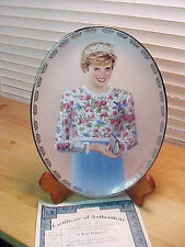 Collector Plate DIANA A True Princess Limited Edition 3rd issue