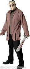 JASON VOORHEES FRIDAY THE 13TH HALLOWEEN COSTUME ADULT XL