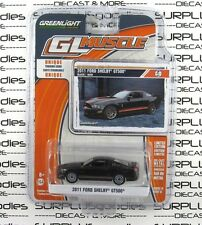 GREENLIGHT 1:64 Scale GL Muscle Series 13 Black 2011 FORD MUSTANG SHELBY GT500