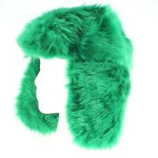 SO Faux Fur Trapper Hat for Women - Bright Colors Winter Hat - One Size