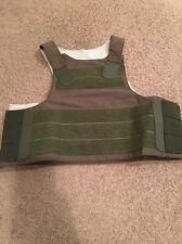 PACA Vest Soft Armor Carrier Ranger Green MEDIUM RLCS SEALs Eagle Allied 2004
