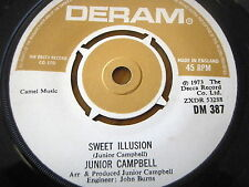 "JUNIOR CAMPBELL - SWEET ILLUSION  7"" VINYL"