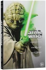 Star Wars - Prequel Trilogy (DVD, 2016) English,Spanish *NEW*