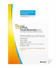 Microsoft Office 2007 Small Business - DE/EN/FR + Multilingual - MLK - NEU