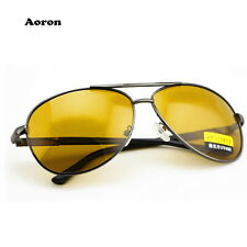 Brown Polarized UV400 Aviator Sunglasses Driving Glasses Outdoor Sport Eyewear