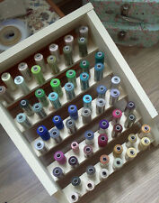 Cotton Sewing Thread Rack Spool Organiser Wall Mounted