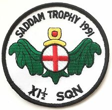 RAF 11.5 Squadron RAF (SADDAM TROPHY 1991) Military Crested Embroidered Patch