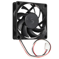 ღ Fan Cooling Cooler Silent 70mm 3Pins 12V PC CPU Host Chassis Computer Case IDE