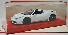 MR Collection 1/18 Ferrari 458 Speciale Aperta Avus White, Exclusive Ltd 25pcs