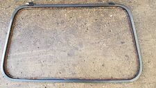VW GOLF MK1 CABRIO SPORTLINE RIVAGE CLIPPER REAR WINDOW METAL / PLASTIC FRAME 18