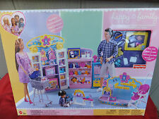 Happy Family Baby Store Barbie Playset 2002 Mattel Fisher Price RARE NRFB MIB