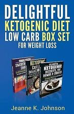 Delightful Ketogenic Diet Low Carb BOX SET for Weight Loss : Breakfast,...