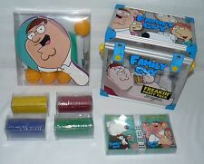 FAMILY GUY PACK  DVD  TRIVIA GAME PLAYING CARDS POKER CHIPS PING PONG