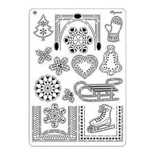 Pergamano Parchment Craft Multi Grid No. 39 Winter Festival Christmas CLEARANCE
