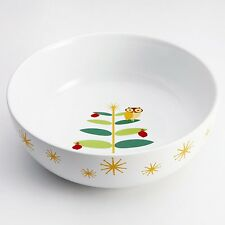 Rachael Ray 58342 Holiday Hoot 10-in Serving Bowl