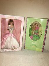 Barbie Doll Lot (2) Birthday Wishes Barbie/Simply Charming Barbie *New*