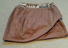 LITTLE JOULES GIRLS BROWN AGE 4 YEARS SKIRT. BRAND NEW