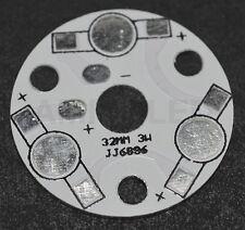 1 x PCB circuito impreso para 3 LED disipador de aluminio para LEDs 1W-3W