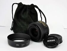 Nikon AF-S DX Nikkor 35mm 1.8G Portrait Lens for D3100 D3200 D5100 D5200 D7000