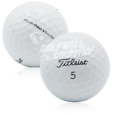 24 Near Mint Titleist Pro V1 2014 AAAA Used Golf Balls - FREE Shipping