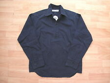 FRONT ROW NAVY HEAVY COTTON RUGBY FOOTBALL TRAINING DRILL TOP SHIRT XS ADULT