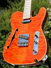 WELLER TELESTAR*QUILTED MAPLE TOP*MAPLE NECK*STRINGS THRU BODY *HALS EINTEILIG*