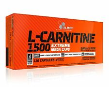 Olimp L-Carnitine 1500 Extreme - Loss Weight - Fat Burner - 120caps. Free P&P
