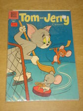 TOM AND JERRY COMICS #137 VG (4.0) DELL COMICS DECEMBER 1955