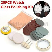 20PCS Watch Glass Polishing Kit 60g Cerium Oxide For Glass Crystal Scratch Remov