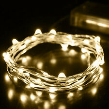 2M Christmas Garden Party String Fairy Lights Battery Operated 20 LED Warm White