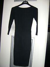 Authentic DKNY Black Sweater Bodycon Dress - Size XS