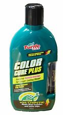 GREEN TURTLE WAX COLOR CURE PLUS ENHANCING CAR MOTOR POLISH 500ML CHIPSTIK