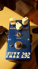 "JDM ""Fuzz 292"" Silicon Fuzzface 3-way Voicing, Vintage BC184 & BC109 *TONE!*"