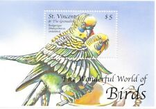 St. Vincent- The Wonderful World of Birds, 2000 - 2843 S/S MNH