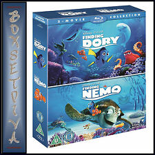 FINDING DORY AND FINDING NEMO -DISNEY PIXAR COLLECTION  ** NEW BLURAY BOXSET**