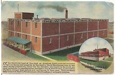 W.T. Rawleigh Company Stock Dip Factories in Freeport IL and Memphis TN Postcard