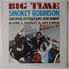BIG TIME: Soundtrack ost SEALED Smokey Robinson Soul TAMLA Orig LP