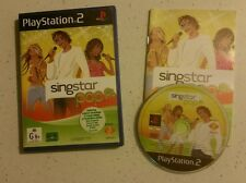 Playstation 2 PS2 Game - Singstar POP - Pal - Complete - Fast Free Post!