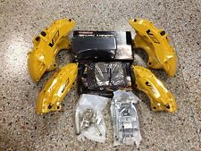 Cadillac CTS-V 6 Piston Yellow Brembo Calipers Front & Rear w/pads & pins ZL1