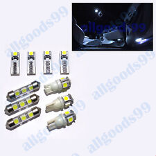 JAGUAR X-Type Interior LED Bulb Set/Kit Includes 7 bulbs XENON WHITE Colour
