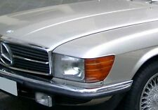 Original Mercedes-Benz W107 SL SLC Zierstab Links Chromleiste Kühlergrill TOP