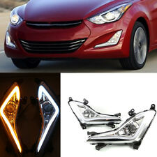 For Hyundai Elantra 2014-2016 Daytime Running Lamp LED DRL Fog Light Cover set