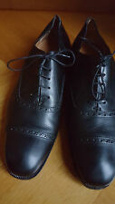 RALPH LAUREN SCHWARZ BLACK SCHNÜRSCHUHE DRESS SHOES US 12 EUR 45/46 UK 11
