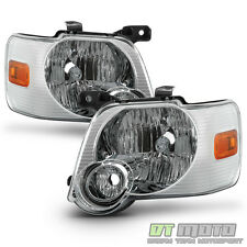 2006-2010 Ford Explorer Replacement Headlights Headlamps Pair Driver+Passenger